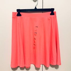 PINK Victoria's Secret Neon Pink Skater Skirt